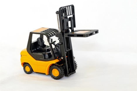 yellow-forklift