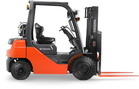 forklift side view